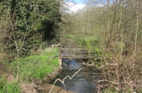 Photo: The River Tud at Queen's Hills