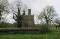 Photo: Remains of Costessey Hall