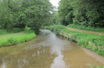 Photo: River Tud and the local area