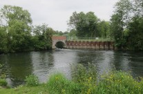 Photo: Near the confluence of the Tud with the River Wensum
